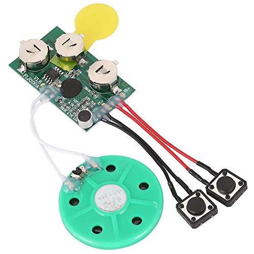 Voice Module, DIY Handwerk Grußkarten Chip 120 Seconds Musik Sound Voice Recorder Music Board Modul für Vocie Grußkarte