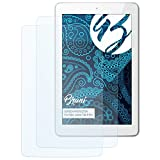 Bruni Schutzfolie kompatibel mit Odys Junior Tab 8 Pro Folie, glasklare Bildschirmschutzfolie (2X)