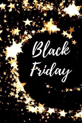 Carnet de notes: Black Friday: Planifier vos achats et faites des économies de dingue pendant ce jour de solde incroyable. | Vendredi noir, réduction ... Les soldes, promotion | Jolie carnet de note