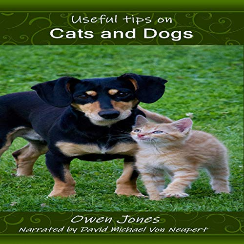 Couverture de Useful Tips on Cats and Dogs