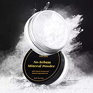 Loose Face Powder 0.42 Oz A Creamy-White Complexion Cool Tone Makeup Powder Face Powder, for Setting or Foundation, Lightweight, Long Lasting, Pack of 1 (Ivory white)