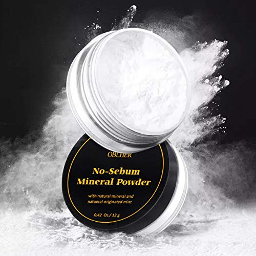 Loose Face Powder 0.42 Oz Free Oil-Control Loose Powder, Loose Setting Powder, Mineral Matte Finishing Powder, Lightweight, Imperfections Sheer, Radiant Finish. A Creamy-White Complexion Cool Tone Makeup Powder Face Powder, for Setting , Lightweight, Long Lasting, Pack of 1 (Ivory white)