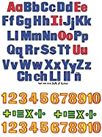 Becker's School Supplies Letters and Numbers Felt Set [並行輸入品]