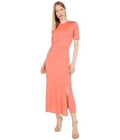 Halston Lauren Jersey T-Dress