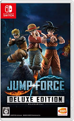 JUMP FORCE デラックスエディション -Switch (【早期購入特典】3大特典が手に入るダウンロード番号(1ロビー...