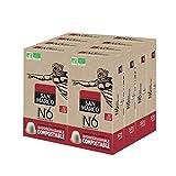 San Marco - Capsules de Café Bio N°6 - Fin et Aromatique - 100% Arabica - Capsules Compostables, Sans Aluminium - 8 x 10 Capsules Compatibles Machines Nespresso® *