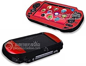 Szjay ® Metal Aluminum Metallic Protection Hard Case Cover for Playstation Ps Vita 1000 (Red)