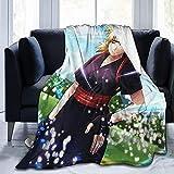 Temari Gifts - Mantas de bebé cálidas, para sofá, cama, sala de estar, duradera decoración del hogar, manta de franela para adultos y niños