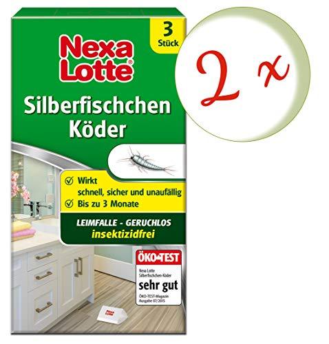 Nexa Lotte Silberfischchen-Köder - 6 Stück