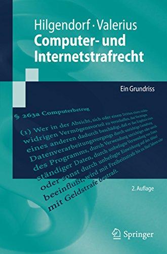 Computer- und Internetstrafrecht: Ein Grundriss (Springer-Lehrbuch)