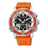 [シチズン] 腕時計 プロマスター エコ・ドライブ マリンシリーズ ヨットタイマー JR4061-18E メンズ オレンジ