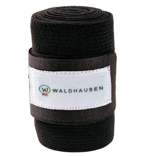WALDHAUSEN Elastic Bandage Set = 4 Stk., schwarz, schwarz
