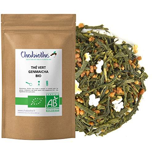 BIO Japanisches Genmaicha Grüner Tee mit Reis 200g