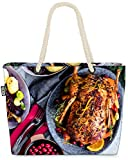 VOID El Ganso de Navidad Bolsa de Playa 58x38x16cm 23L Shopper Bolsa de Viaje Compras Beach Bag Bolso