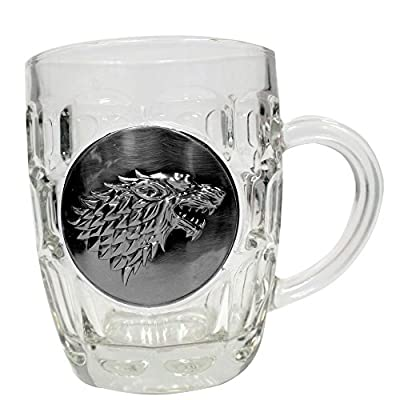 SD Toys Merchandising Game of Thrones Stark Crystal Stein with Metallic