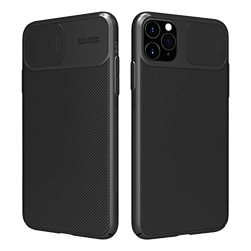 Nillkin CamShield Case for iPhone 11 Pro Max 6.5', [Camera Protection] with Slide Camera Cover, Slim Stylish Protective case for iPhone 11 Pro Max 6.5' (2019) Black