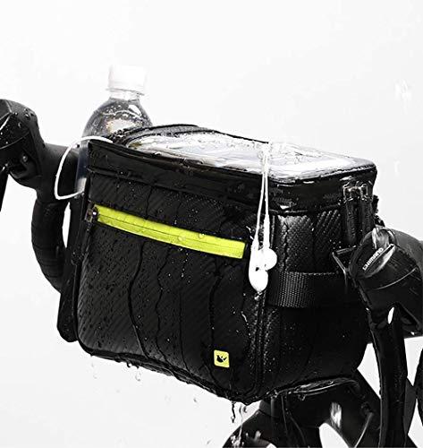 Akaigu Bike Handlebar Bag,Front Bag Road Bike Bag Bike Frame Bag Bike Basket Bag Bicycle Bag Waterproof