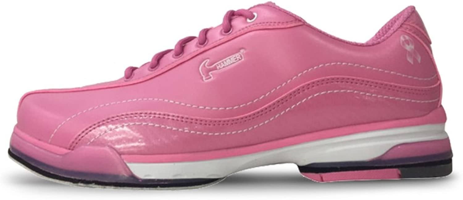 Hammer Womens Force Plus White Pink Bowling shoes