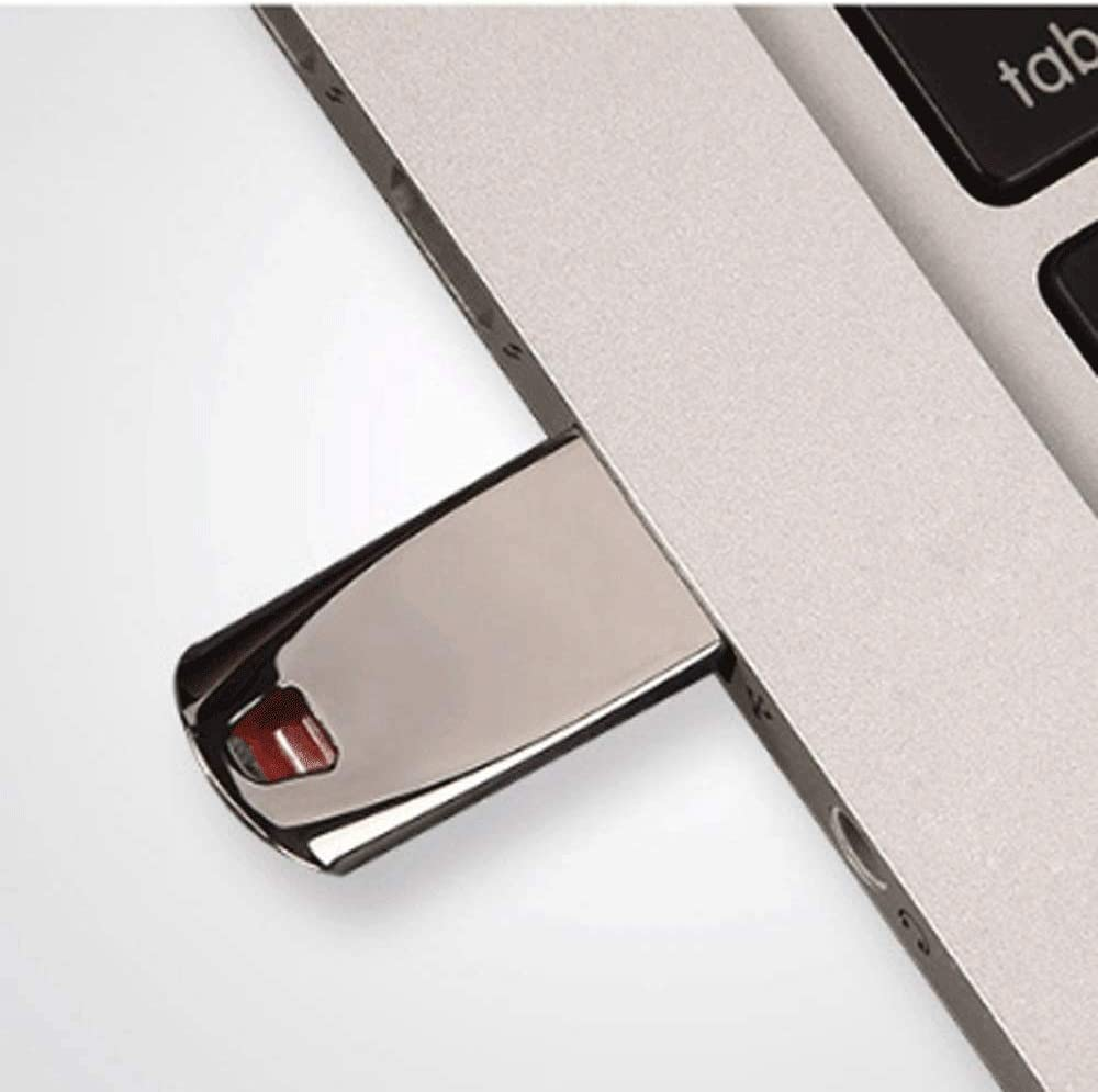 TDCQQ USB 2.0 Flash Drive,Upto 18MB//s Read,Flash Drive USB2.0 8G 16G 32G 64G USB2.0 High Speed Metal Encryption USB Flash Drive Size : Size 64GB