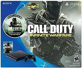 وحدة تحكم رفيعة سعة 500 جيجا لجهاز PlayStation 4 - سلسلة العاب كول اوف ديوتي: انفينيت وورفير ليجاسي بندل
