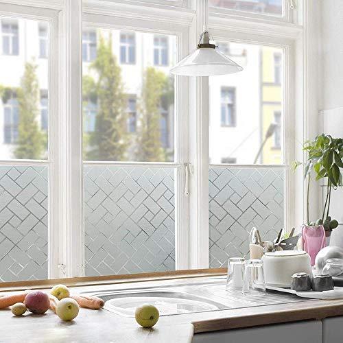 KUNHANN raamfolie motief afbeeldingen in 3D vorst statisch hechtende raamfolie privacy bescherming glas vinyl folie voor badkamer vergaderruimte statisch