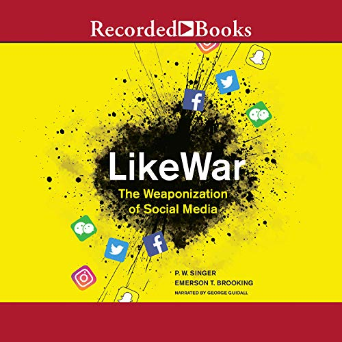 LikeWar audiobook cover art