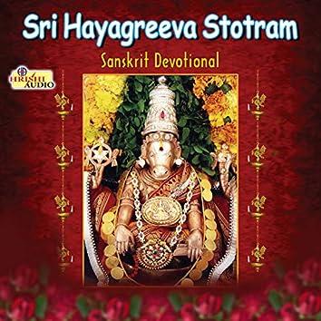 Sri Hayagreeva Stotram