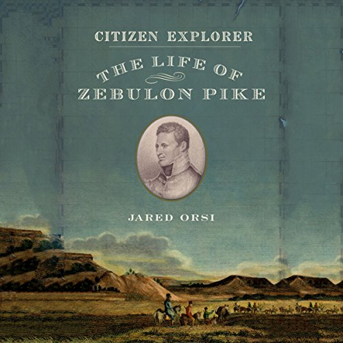 Citizen Explorer audiobook cover art