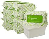 Amazon Elements Baby Wipes, Fresh Scent, 720 Count, Resealable Packs with Tub
