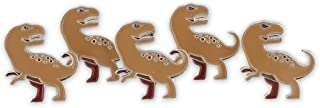 Forge Tyrannosaurus Rex Jurassic Dinosaur T-Rex Enamel Lapel Pin