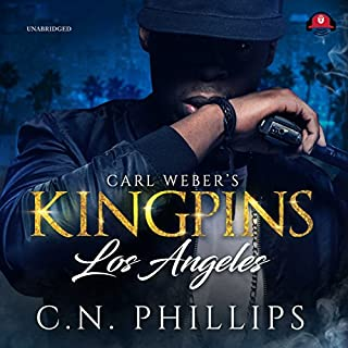 Carl Weber's Kingpins: Los Angeles audiobook cover art