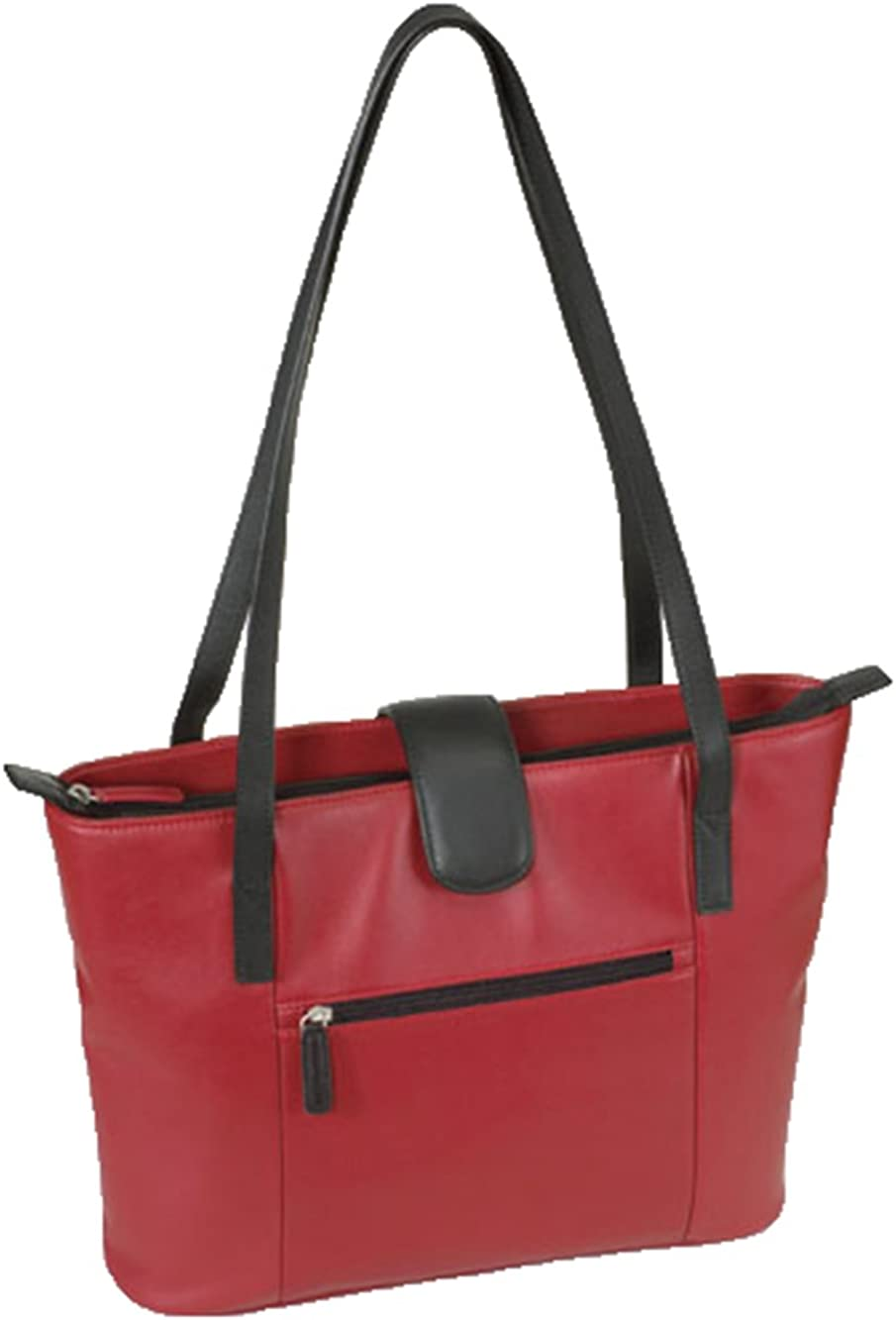 Ave. Collection Top Alternative Max 59% OFF dealer Grain Tote Leather