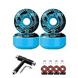 <span class='highlight'><span class='highlight'>LILI</span></span> Skatewarehouse Full Skateboard Undercarriage Kit - Core Trucks   ABEC 11 Bearings   50mm Conical Wheels (Blue)