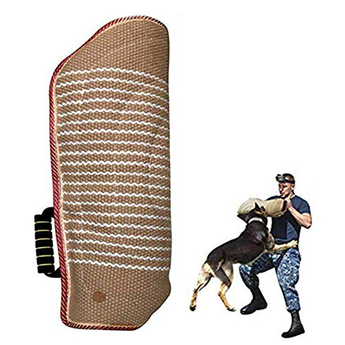 chunnron Hunde Trainings Kit Schutzhülle Hunde Trainings Kit Schutzhülle Armschutz Griff-Schutz Biss Schutz Hülse Weiche Biss Schutz Hülse Hund Beißen Hülse
