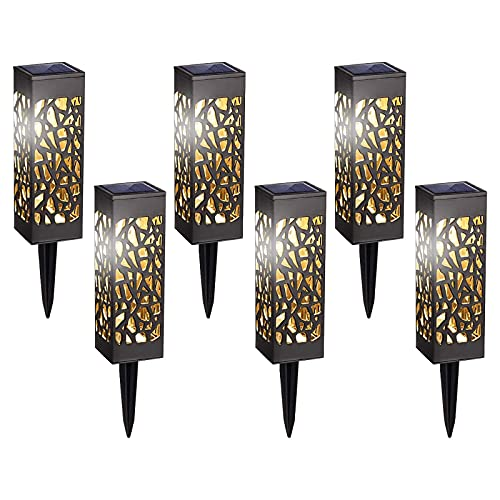 HeiHeiDa Solar Lights Outdoor, Garden Lights Solar Powered with Warm White LED Lights, Waterproof Solar Ornament Lights for Patio, Yard, Pathway Dusk to Dawn Auto On/Off