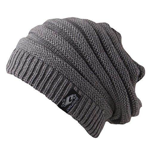 CHILLOUTS Erwachsene Mütze Brian Hat, Grey, One Size, 3084