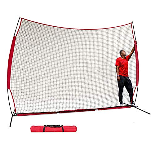AMAIRS Rebound-Netz, Basketball Softball Baseball Golf Eishockey Hockey Großblock Netz Schutznetz Fußball Zaunnetz Sportsnet Seine