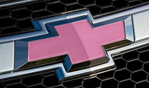 pink chevy emblem replacement - 9