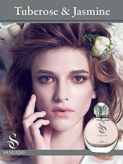 SANGADO Tuberosa Y Jazmín Perfume para Mujeres Larga Duración de 8-10 horas Olor Lujoso Floral Francesas Finas Extra ...