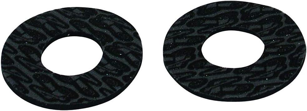 Renthal G185 Black//Gray Grip Donutz