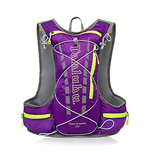15L Fahrradrucksack Trinkrucksack Wasserdicht Rucksäcke für Wandern Klettern, Fahrradfahren, Laufsport, Camping Sportrucksack Ultraleicht Fahrrad Rücksack (1)