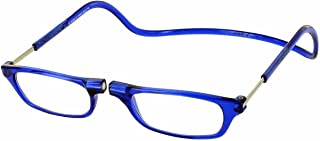 Clic Magnetic Reading Glasses in Blue