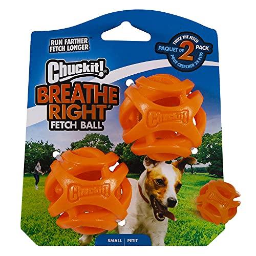 Chuckit! Breathe Right Fetch 2 Ball Set, Small
