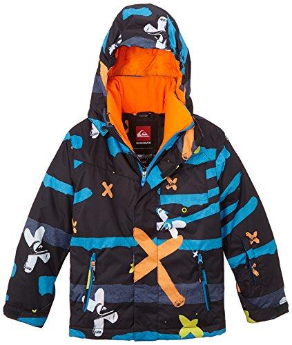 Quiksilver Jungen Snowboard Jacke Mission Printed Y, Little, XL