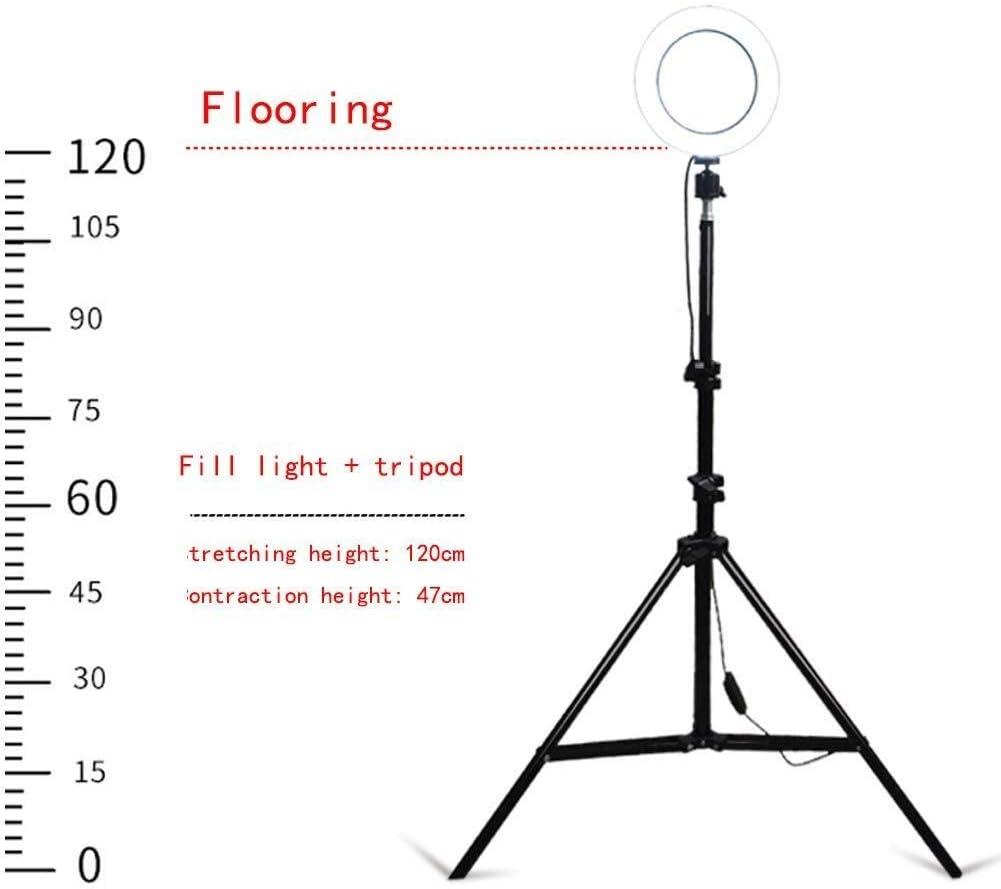 Mobile Phone Live Fill Light Skin Soft Light Live Light Lamp Photography Triangle Bracket Anchor Beauty Tender Multi-Function Shooting Light Camera Light Still Life Shooting Floor Hd Ring Light Selfie
