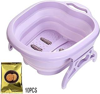 Foot Massagers, Foot Spa Tub Foldable Footbath With Foot Massagers Portable Foot Soaking Health Care
