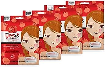 Yes To Tomatoes Impurity Fighting DIY Powder-to-Clay Mask Bundle (4 Single Use Masks)