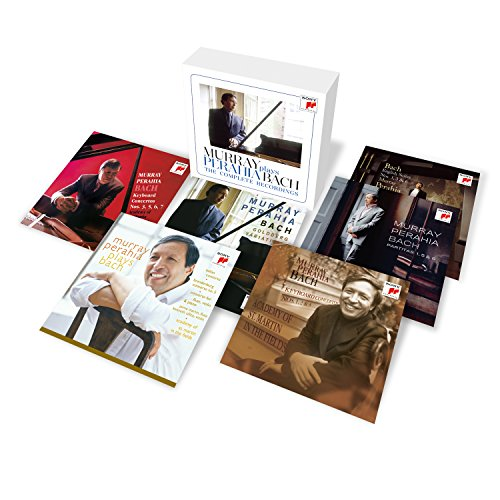 Murray Perahia Plays Bach - The Comp Lete Recordings