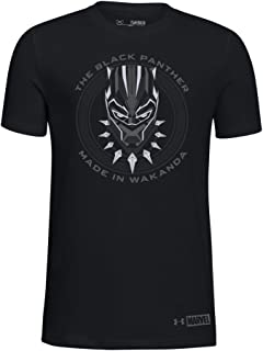 UA Made in Wakanda Black Panther YLG Black