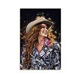 NENBN Shania Twain Poster, dekoratives Gemälde, Leinwand,